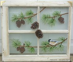 Panes of Art by Michele L. Mueller  Window Pane Art  www.panes-of-art.com