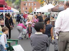 Kids love the market.