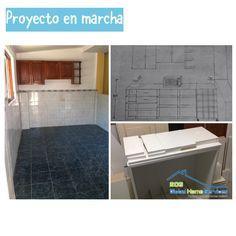 Diseño de mueble de cocina/bar dos en uno. Pronto foto del trabajo terminado #203ghs #proyectoscompletos #cocina #bar #melamina #diseño #desing #proyectobar @203ghs