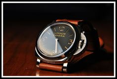 To know more about Panerai Luminor PAM visit Sumally, a social network that gathers together all the wanted things in the world! Featuring over 220 other Panerai items too! Luminor Panerai Watch, Panerai Watches, Men's Watches, Cool Watches, Watches For Men, Casual Watches, Wrist Watches, Beautiful Watches, Moda Masculina