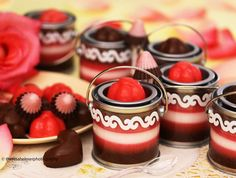 Chocolate n Strawberry Candy/Mousse Collections by theresahelmer.deviantart.com on @deviantART