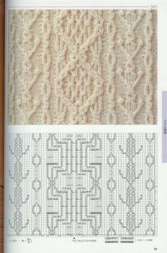 Мобильный LiveInternet H.Shida, G. Roehm - 250 Japanese Knitting Stitches: The Original Pattern Bible / узоры Cable Knitting Patterns, Knitting Stiches, Knitting Books, Knitting Charts, Lace Knitting, Knitting Designs, Knit Patterns, Crochet Stitches, Stitch Patterns