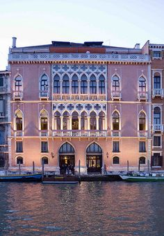 Hotel Danieli, Venice, Italy // about $800 a night. Use the public transport along the canal it's cheaper and you can get to and see everything much easier.