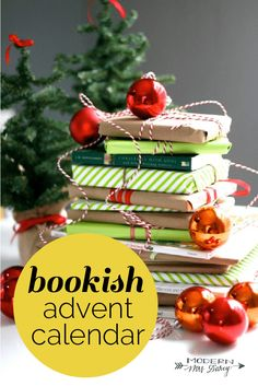 book advent calendar for families and kids | Book love | Bookish Christmas