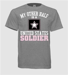 My Other Half Army Unisex by VelvetandStoneShop on Etsy, $30.50