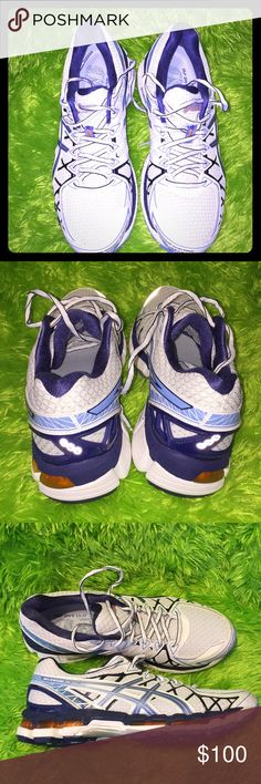 ASICS Men's shoes ASICS gel katana 20 fluidride oynamic duo max.   Men's size 9.5 .. used once it's like new Asics Shoes Athletic Shoes