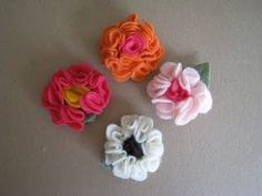 Tutorial for Felt Flower