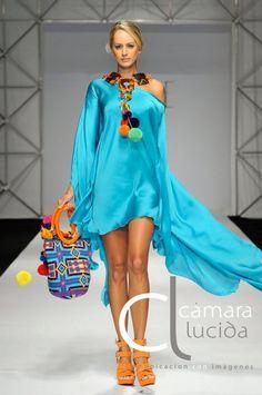 Wayuu Boho Mochila Bags on the runway www.lamochilawayuu.com