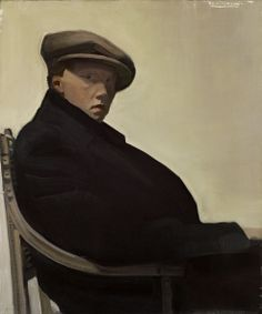 SIR WILLIAM OLIPHANT HUTCHISON PRSA (Scottish 1889-1970) Self portrait