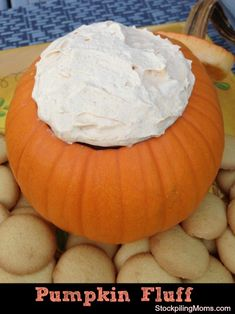 We love this Pumpkin Fluff Recipe!  Only 2 WW+ Points and perfect for Thanksgiving!