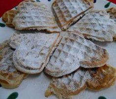 Rezept Marzipanwaffeln :-) von Heimchen - Rezept der Kategorie Backen süß