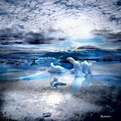 神々しい自然の造形に満ち溢れた、アイスランドの耽美的風景写真 : カラパイア
