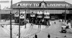"""""""Woodside"""" 1951 Liverpool Waterfront, Liverpool City Centre, Liverpool Town, Liverpool Docks, Liverpool History, Local History, Family History, Modern Metropolis, Bus Station"""