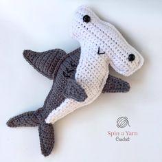 Hammerhead Shark Free Crochet Pattern