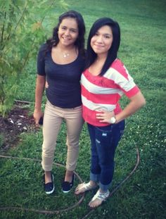 Lesly. First day of school. :)