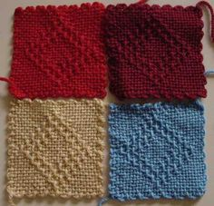 4-inch weave-it squares