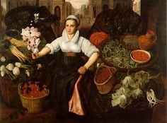 Vincenzo Campi (Italian painter, c 1536 – Market Scene Renaissance Portraits, Italian Renaissance, Annibale Carracci, James Abbott Mcneill Whistler, Freer Gallery, Italian Artist, Female Art, Medieval, My Arts