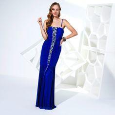 TERANI COUTURE-P1512 Royal Blue $ 327.80