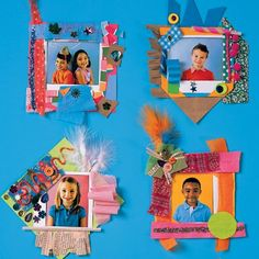 Paper Party Picture Frame