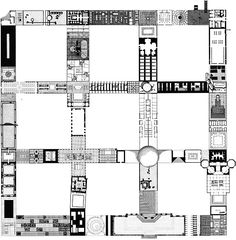 Plan For A 9 Square Grid, quondam