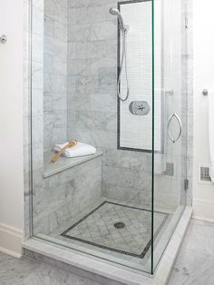 Corner Shower - sublime decor