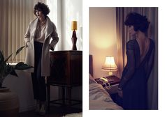 Lina Almina styled by Julia Brenard for Reiss
