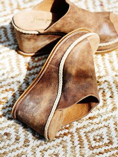 Free People Newport Wedge. Love the look, but they need to be amazing for that price...