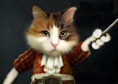 Custom pet portrait - 1 pet -Your pet into a character portrait custom pet art On SALE