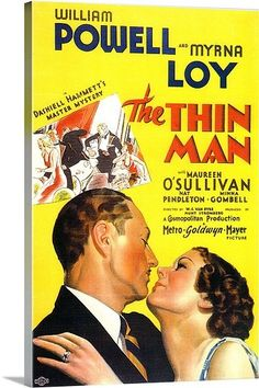 The Thin Man (1934) ... Love this series...and others w Myrna Loy and William Powell together...