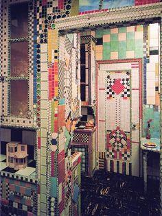 Coloured tiles amaze!