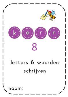Kern 8 Speech Language Therapy, Speech And Language, Nice Handwriting, Preschool Printables, Love My Job, Writing Skills, Kids Education, Pre School, Spelling