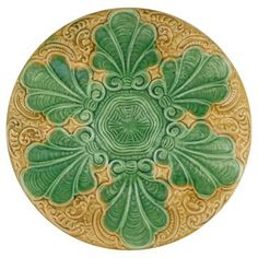 Check out this item at One Kings Lane! Majolica Oyster Wall Plate
