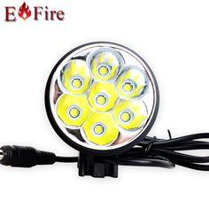 $44.20 (Buy here: https://alitems.com/g/1e8d114494ebda23ff8b16525dc3e8/?i=5&ulp=https%3A%2F%2Fwww.aliexpress.com%2Fitem%2F8000-Lumen-7-CREE-XM-L-T6-LED-Super-bright-Bike-LED-Bicycle-Lamp-Light-HeadLight%2F32276110919.html ) 8000 Lumen 7 * XM-L T6 LED Super bright Bike LED Bicycle Lamp Light HeadLight  Waterproof Aluminum alloy 10000mah battery for just $44.20