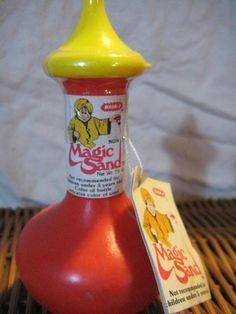 Magic Sand - I loved this stuff.