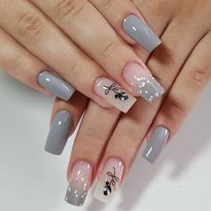 Classy Nails, Stylish Nails, Simple Nails, Trendy Nails, Hot Nails, Swag Nails, Pink Nails, Acrylic Nail Designs, Nail Art Designs