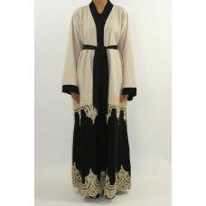 Exclusive designer open abayas www.amanis.co.uk