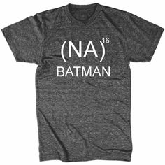 """Batman shirt """"(NA)16th"""" Mens Tee Athletic Fit by NorthStarTees on Etsy https://www.etsy.com/listing/208882532/batman-shirt-na16th-mens-tee-athletic"""