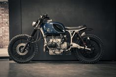Beautifully modified BMW boxer twin