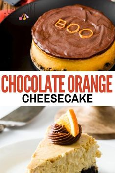 This chocolate orange cheesecake has a bright citrus flavor that pairs perfectly with its chocolate Oreo crust. The texture is just the way that I like cheesecake – not too heavy and not super light and fluffy. #Cheesecake #ChocolateOrange Chocolate Orange Cheesecake, Fluffy Cheesecake, Chocolate Oreo, Cheesecake Cupcakes, Chocolate Glaze, Cream Cream, Sour Cream, Gourmet Recipes, Baking Recipes