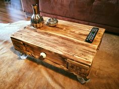 diy-pallet-coffee-table-with-locking-casters.jpg (960×720)