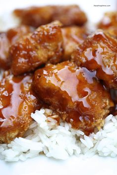 Homemade sweet and sour chicken recipe ~ The homemade sauce is what really takes this recipe over the top!