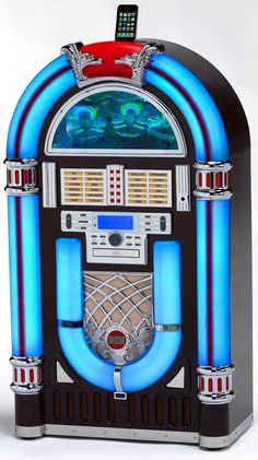 Of course there needs to be a jukebox!!!  and one that plays MP3's is wicked....wish I could design one though myself