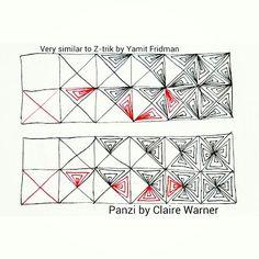Tangle pattern: Panzi