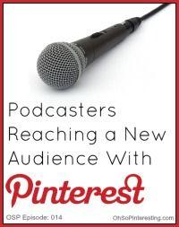 Masser af Podcasts - lydfiler - om at øge mængden af modtagere via Pinterest.
