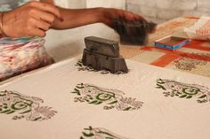 block printing Textiles, Textile Prints, Types Of Printing, Printing On Fabric, Rotary Screen Printing, Digital Printing Machine, Types Of Patterns, Towel Crafts, Indian Crafts