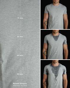 La t-shirt è probabilmente il capo d'abbigliamento più diffuso del nostro secolo e ci sono ancora milioni di modi creativi per giocare con la sua grafica. Questo post è dedicato ai disegni semplici ma geniali che usano la maglietta come una tela in modo creativo ed intelligente.