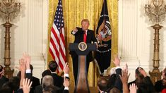 After announcing his new labor secretary nominee, the president spoke at length about a range of topics, from U.S. relations with Russia, to a new executive order and complaints about the media.