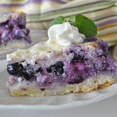 Nova Scotia Blueberry Cream Cake - Allrecipes.com