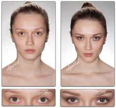 пошаговый урок Nude Makeup