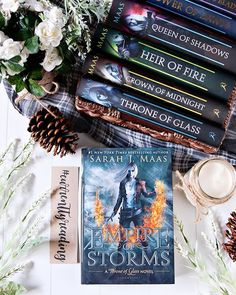 Happy Saturday Bookworms!! - Qotd: Are there any books that have taken you FOREVER to read?? - Honestly I donMt think there are many books that have taken me forever to read. I usually try to get through them pretty quickly.  It is however taking me a little time to get through this Throne of Glass series!  Yesterday I started Empire of Storms and Im super curious to see where this story is going to go.  Are there any books that have taken you a super long time to read?? - Its Saturday! Hows…